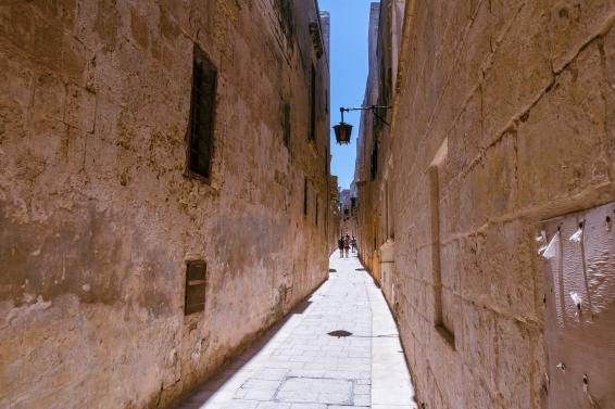 Senosios Mdinos gatvės